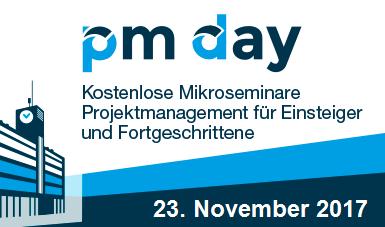 Hinweis auf PM-Day