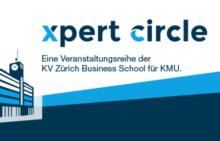 Logo der KV Zürich Business School für die Anlässe xpert circle, Smart Economy