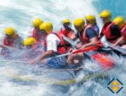 SPOL-Projektressourcen als Rafting-Team